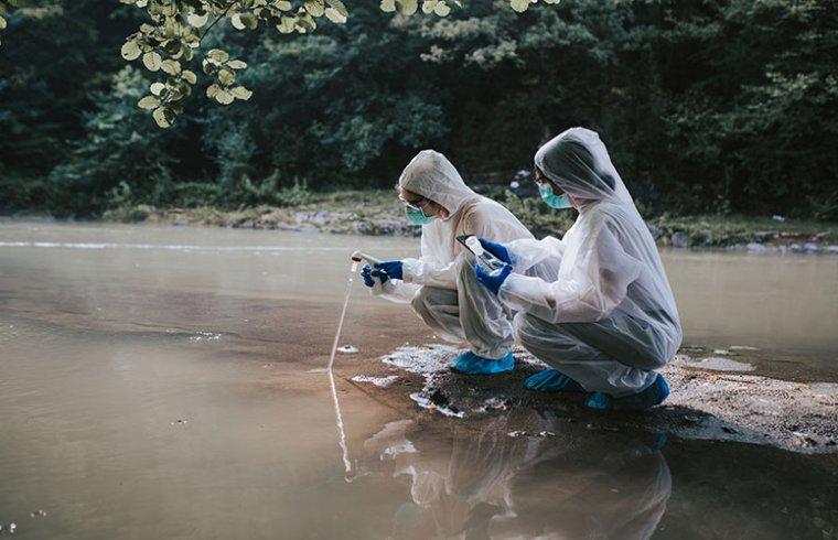 Reagentes para análise de qualidade da água